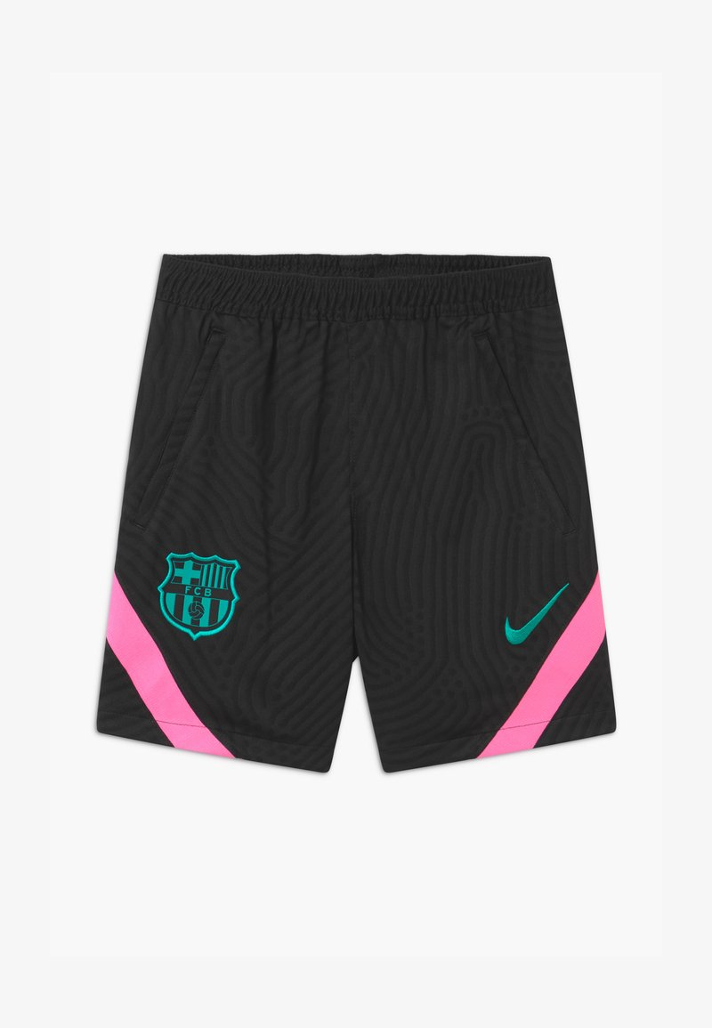 Nike Performance - FC BARCELONA UNISEX - Sports shorts - black/pink beam/new green