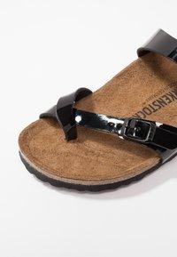 Birkenstock - MAYARI - T-bar sandals - schwarz - 2