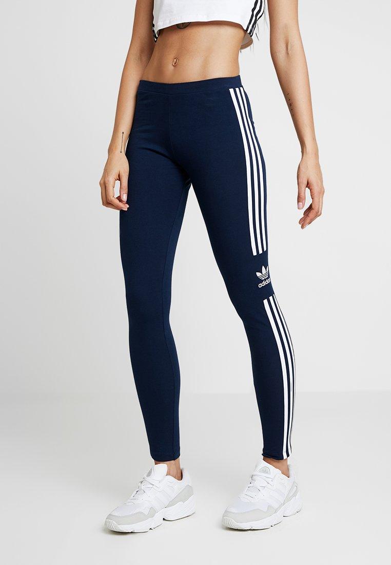 adidas Originals - ADICOLOR TREFOIL TIGHT - Leggings - collegiate navy