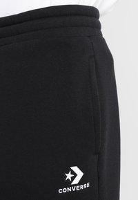 Converse - STAR CHEVRON  - Pantalones deportivos - black - 3
