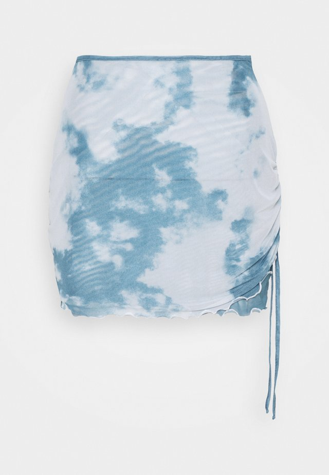 CLOUD MINI SKIRT - Minirok - blue