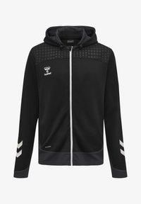 Hummel - POLY  - Zip-up sweatshirt - black - 0