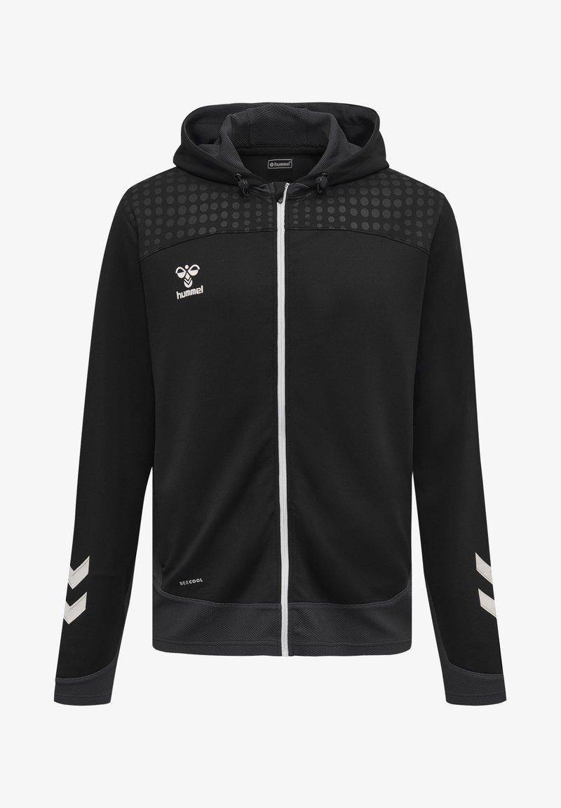 Hummel - POLY  - Zip-up sweatshirt - black