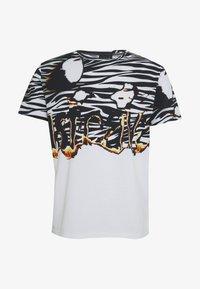 Just Cavalli - ZEBRA PRINT - Print T-shirt - white - 3