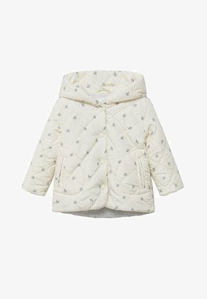 PRINTED QUILTED  - Overgangsjakker - off white