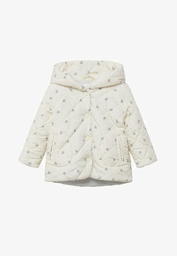 PRINTED QUILTED  - Light jacket - off white