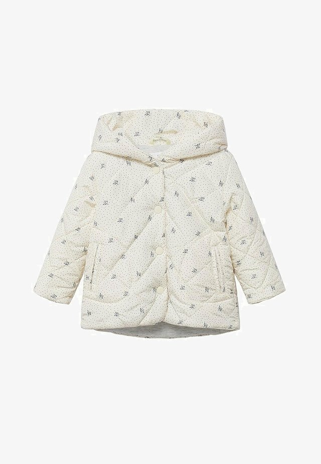 PRINTED QUILTED  - Jas - off white