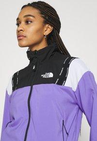 The North Face - WIND JACKET - Training jacket - pop purple/black - 4