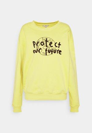 PROTECT NATURE - Sweatshirt - linden green