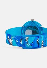 Flik Flak - ZEBRANNAH UNISEX - Hodinky - blue - 1