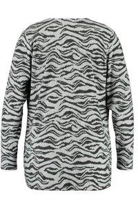 MS Mode - WITH ZEBRA PRINT - Cardigan - grey - 5