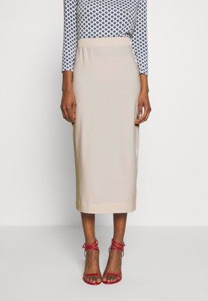 EIFFEL - Pouzdrová sukně - beige