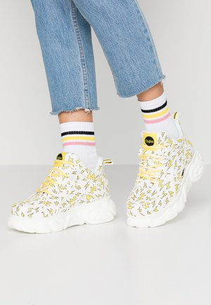 CORIN - Sneaker low - white/yellow