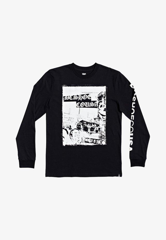 PIONEER SKY - Long sleeved top - black