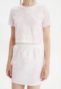Trendyol - SET - A-line skirt - pink - 4