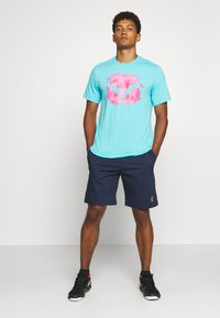 Nike Performance - SHORT HERITAGE - Pantalón corto de deporte - obsidian - 1