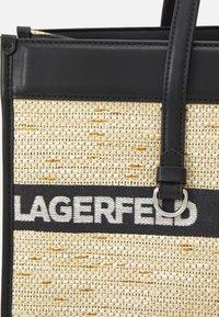 KARL LAGERFELD - SKUARE LARGE LOGO TOTE - Cabas - black - 5