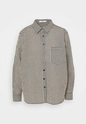 ELOTTA SHIRT - Button-down blouse - black/white