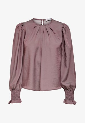 PUFFÄRMEL - Blouse - rose brown
