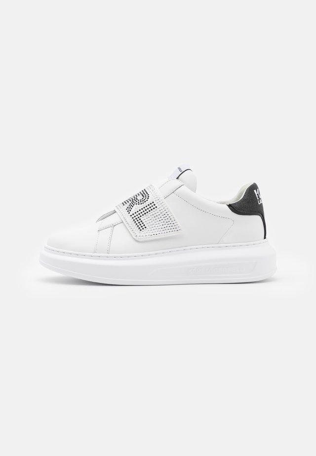KAPRI GLITZ LOGO  - Sneakers laag - white