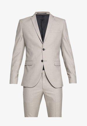 SLHSLIM SUIT - Suit - beige