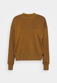 CREWNECK - Sweatshirt - tabacco