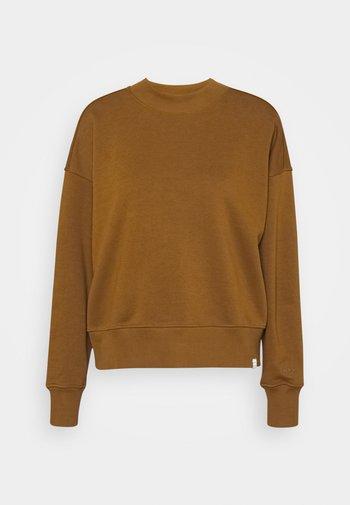 CREWNECK - Sweater - tabacco