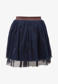 TOM TAILOR - Pleated skirt - black iris|blue - 0
