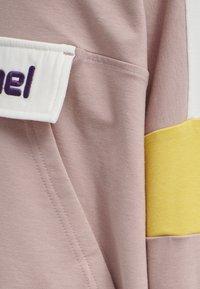 Hummel - VALERIE LONG UNISEX - Sweatshirt - deauville mauve - 3
