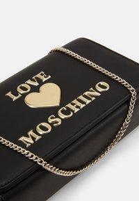Love Moschino - BORSA - Across body bag - black - 4