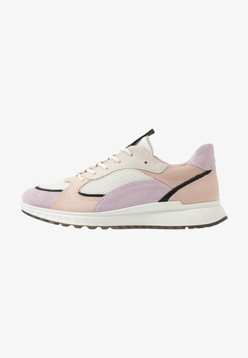 ECCO ST.1 W - Trainers - blossom rose/black/white/rose dust