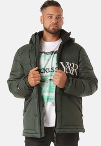Young and Reckless - Winter jacket - green - 2