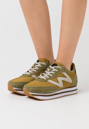 OLIVIA PLATEAU II - Sneakers - ecru/olive