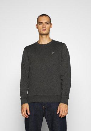 JORBASIC CREW NECK 2 PACK - Sweatshirt - dark grey melange