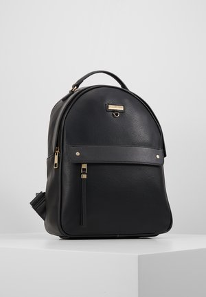 ELESEY - Batoh - jet black/gold-coloured