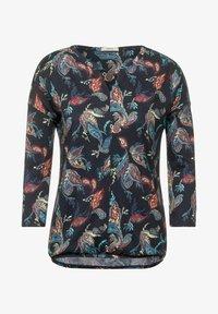 Cecil - IM TUNIKA STYLE - Long sleeved top - blau - 3