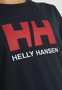 Helly Hansen - LOGO - T-shirts print - navy - 5