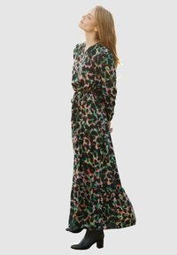 Laura Kent - KLEID - Maxi dress - schwarz tannengrün - 1