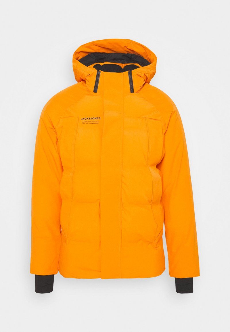 Jack & Jones - JCOALBERT TECH PUFFER - Winter jacket - golden orange