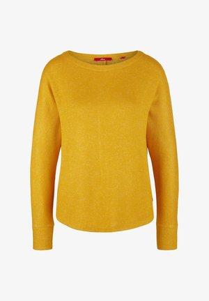 Long sleeved top - yellow melange