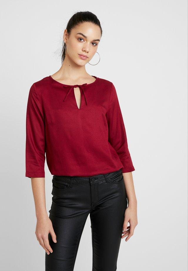 BLOUSE - Camicetta - red velvet
