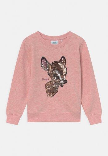 DISNEY BAMBI  - Sweatshirt - rose melange