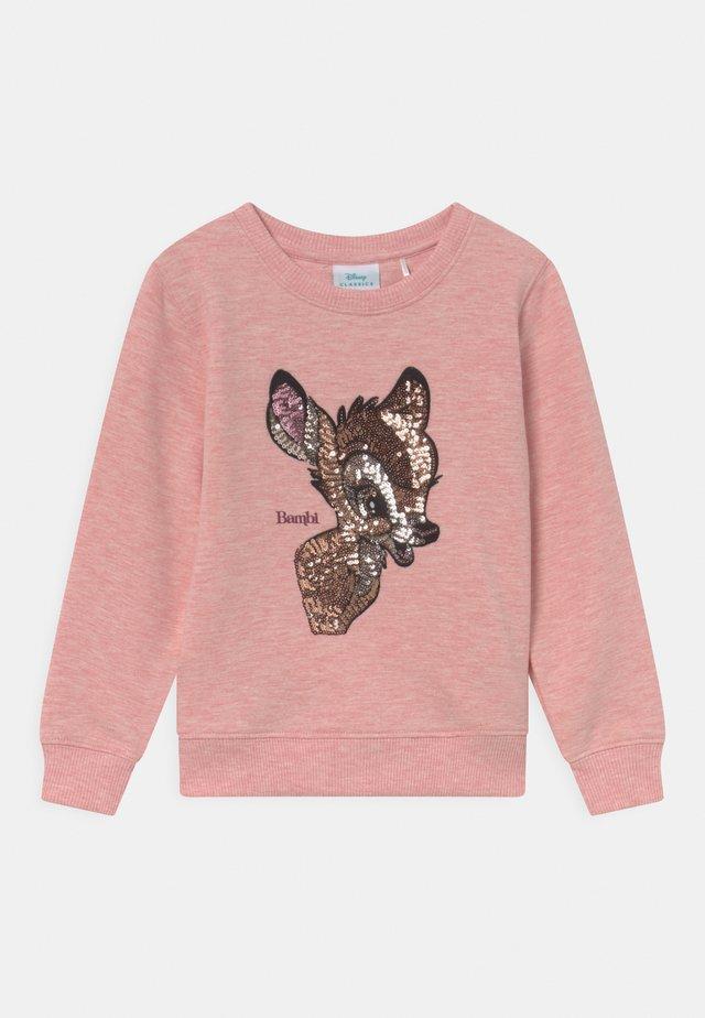 DISNEY BAMBI  - Sweatshirts - rose melange