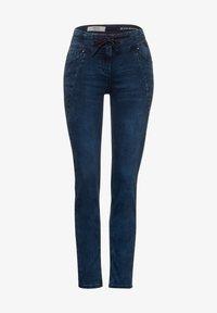 Cecil - IM JOGG STYLE - Slim fit jeans - blau - 3