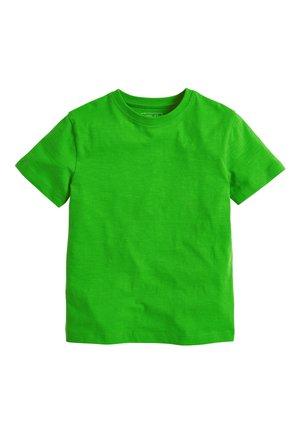 WHITE CREW NECK T-SHIRT (3-16YRS) - Basic T-shirt - green