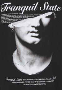 Zign - UNISEX - Print T-shirt - black - 6