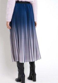 Maison 123 - Pleated skirt - bleu marine - 1
