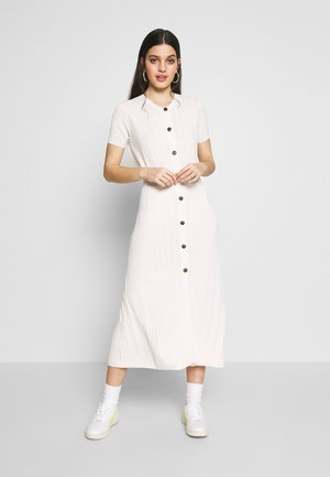 TILLY MIDI DRESS - Jumper dress - oyster