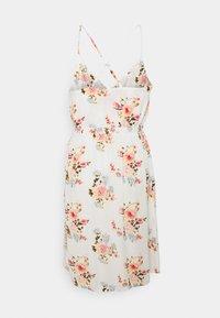 VILA PETITE - VIMESA SHORT DRESS - Day dress - snow white - 1