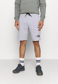 The North Face - RAINBOW SHORT - Pantalón corto de deporte - light grey heather - 0